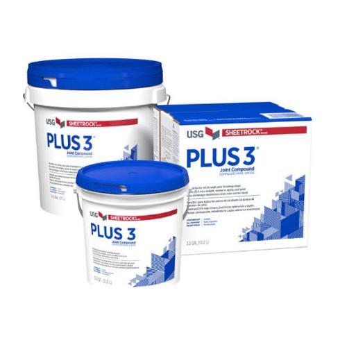 USG Sheetrock Brand Plus 3 Joint Compound - 45 lb Pail