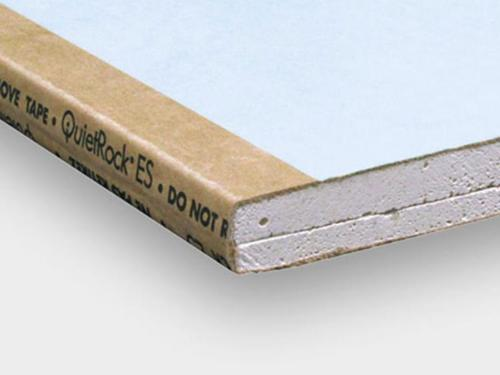 5/8 in x 4 ft x 10 ft PABCO QuietRock EZ-Snap Mold Resistant Sound Dampening Gypsum Panel