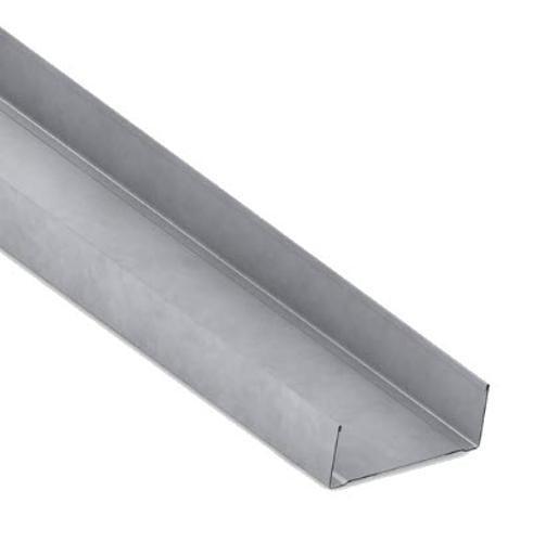 3 5/8 in x 10 ft x 20 GA EQ Steel Track w/ 1 1/4 in Leg