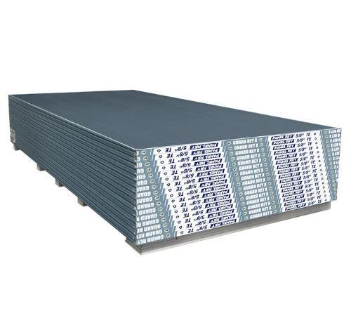 5/8 in x 4 ft x 10 ft Panel Rey Guard Rey Mold Resistant Gypsum Board