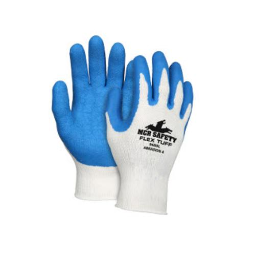 MCR Memphis Flex Tuff Blue Latex Palm Coated Glove - XL