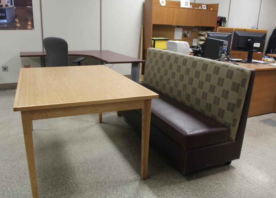 Inmates At Springhill Institution Make A Variety Of Furniture In The  Workshop That Is Sold To Other Government Departments Like Revenue Canada  And The RCMP.