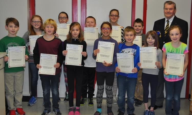 Greater Saint John Students At Donald Fraser Memorial School Were Winners In The Annual Remembrance  Day Poster And Essay Contest Held By The Royal Canadian Legion  Writing Services Environmental Brochure also Essay On How To Start A Business  Descriptive Essay Thesis
