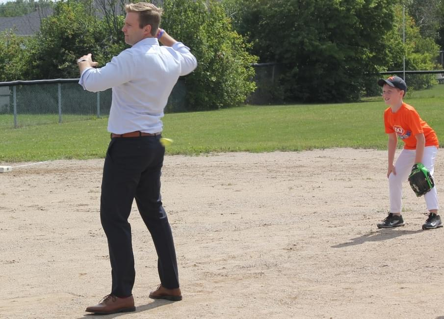 Image result for brian gallant campaigning