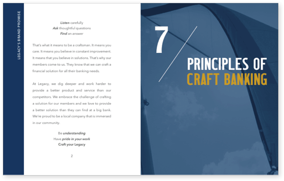 Principles of Craft Banking