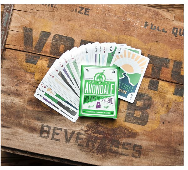 Avondale Brewing playing cards 1