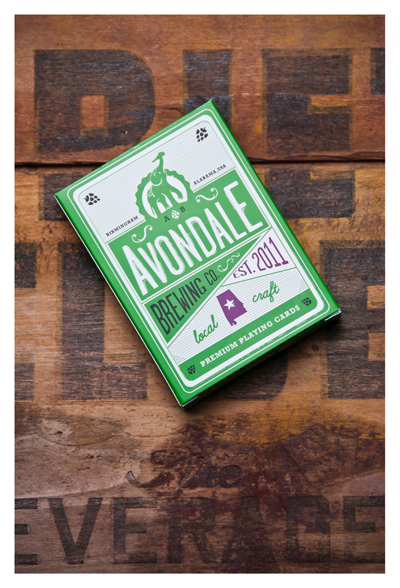 Avondale Brewing playing cards 2