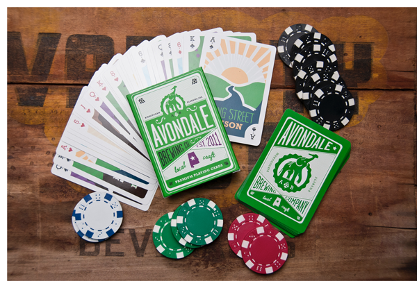 Avondale Brewing playing cards 3