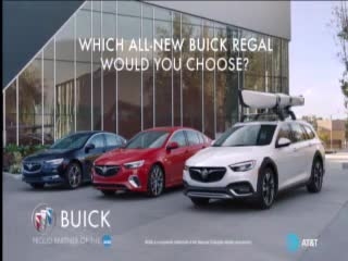 Buick campaigns first seen Mar 2018.