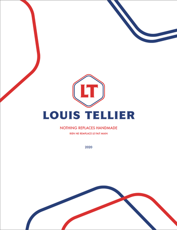 Image of the cover of Louis Tellier catalog