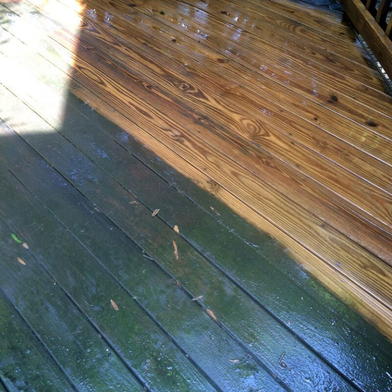 Deck & Fence Washing