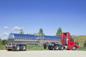 5000 Gal General Purpose Tank Trailer Rear with Tractor