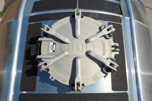 Vacuum Pneumatic Tank Trailer Dome