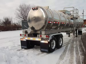Aluminum Tank Trailer Rear