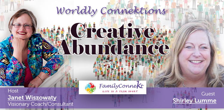 Creative Abundance - Worldly Connektions Episode 39 Cover