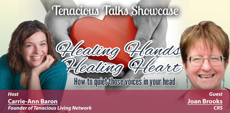 Healing Hands, Healing Hearts - Tenacious Talks Ep 12 - TLR Station Cover