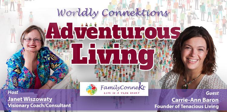 Adventurous Living -Worldly Connektions Episode 31 Cover