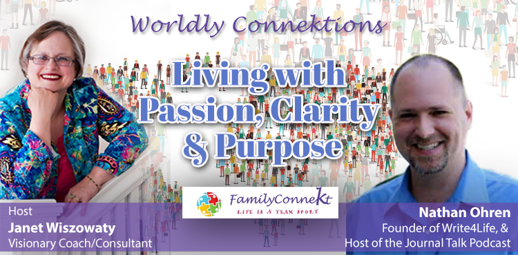 Living with Passion, Clarity & Purpose - Worldly Connektions Ep 07 - Tenacious Living Network Blog Cover
