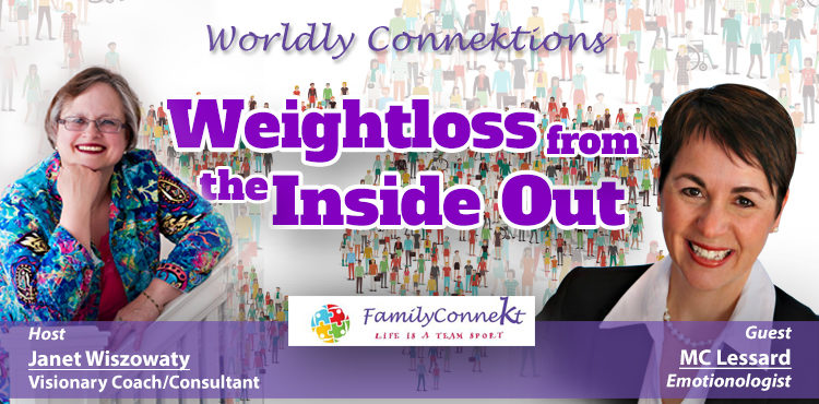 Weightloss From The Inside Out - Worldly Connektions Episode 34 Cover
