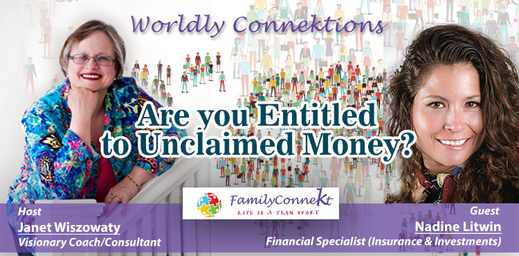 Are You Entitled To Unclaimed Money - Worldly Connektions Episode 36 Cover