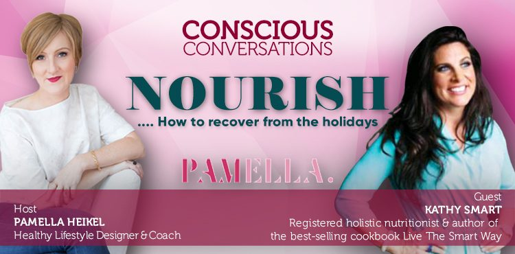 NOURISH: How To Recover From The Holidays -Conscious Con.Ep 9 Cover -Tenacious Living Network