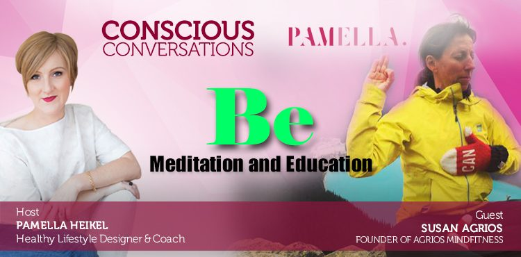 Be: Meditation and Education -Conscious Conversations Ep8 Cover- TLR Station