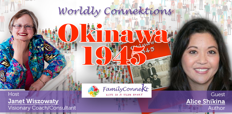 Okinawa 1945 - Worldly Connektions Ep 42 Cover- Tenacious Living Radio