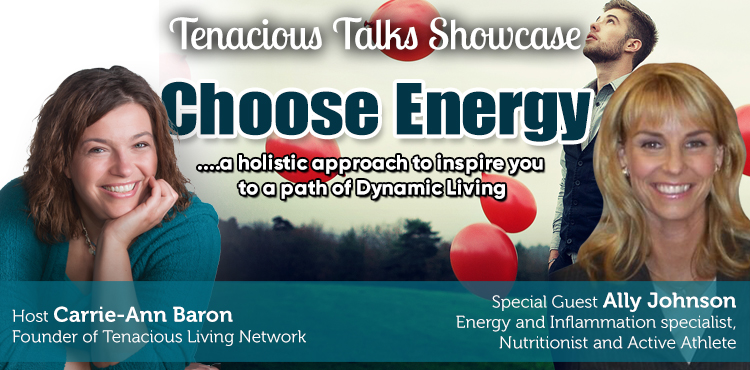 Choose Energy - Tenacious Talks Ep 26 - TLR Station Cover