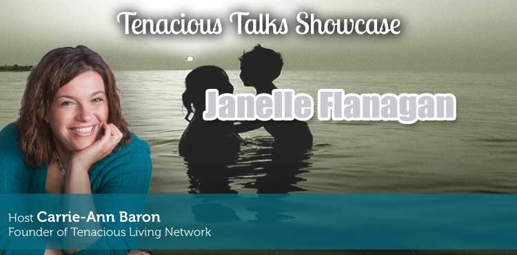 Janelle Flanagan - Tenacious Talks Ep 38 - TLR Station Cover