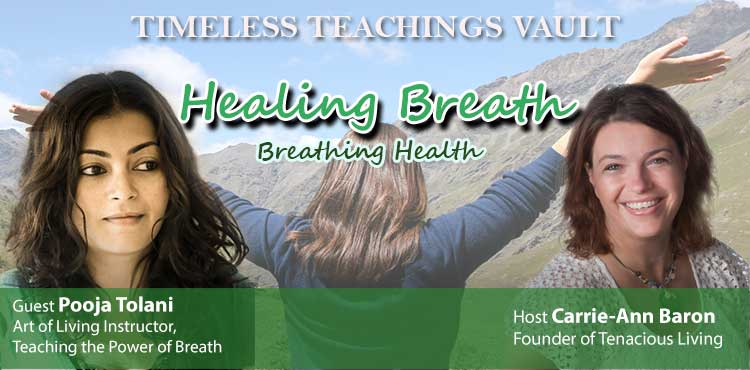 Healing Breath Breathing Health - Timeless Teachings Vault Episode 04 TLN Cover