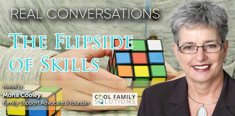 The Flip Side of Skills - Real Conversations with Mona Cooley Ep 09 cover