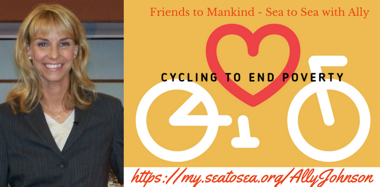Friends to Mankind & Daigle Bikes with Ally Johnson - Tenacious Living Network
