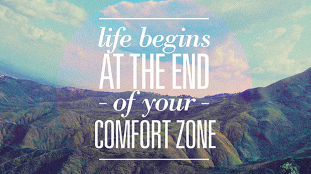 pushing beyond your comfort zone image