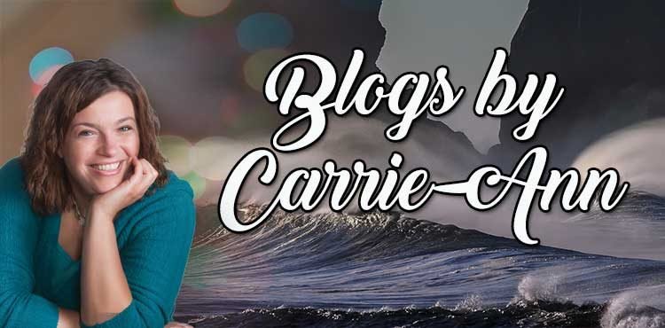 Cover for Carrie-Ann Baron's blog and guest post page - Tenacious Living Network