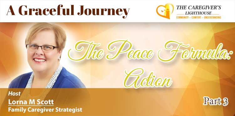 Action - Part 3 Of The Peace Formula - A Graceful Journey Ep 05 - Tenacious Living Network - Alternative Health Directory Blog Cover