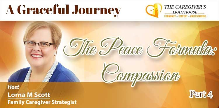 The Peace Formula - Compassion - A Graceful Journey Ep 06 - Tenacious Living Network Your Alternative Health Solutions Podcasts Blog Image