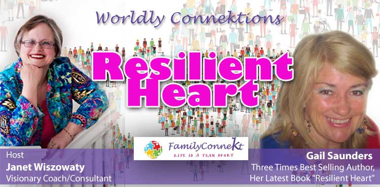 Resilient Heart - Worldly Connektion Ep 06 - Tenacious Living Network Home Of Your Overall Wellness Podcasts blog cover