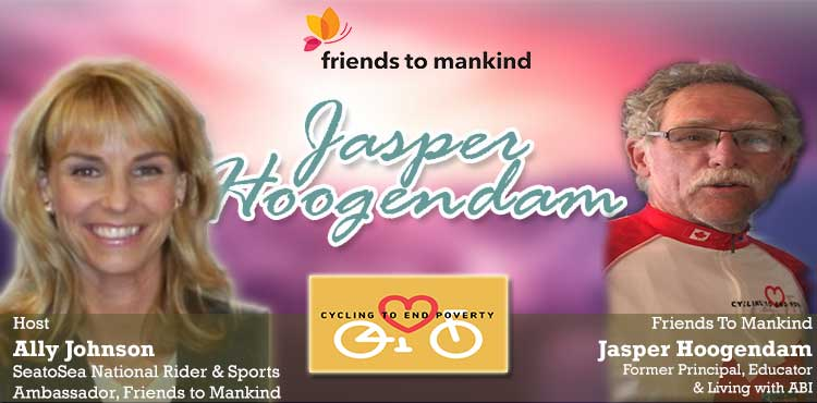 Friends To Mankind - Jasper Hoogendam - Interview Hosted By Ally Johnson Blog Cover