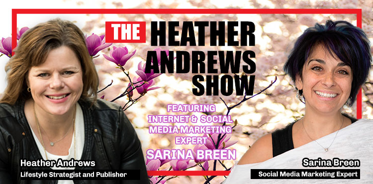Sarina Breen - Ep 12 - The Heather Andrews Show - TLN blog cover with Sarina Breen