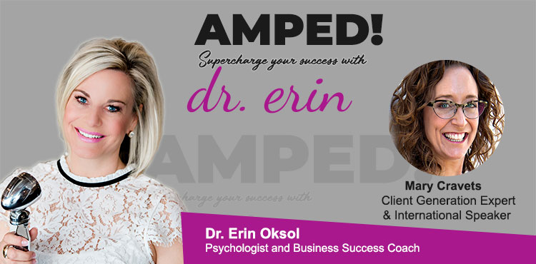 Mary Cravets - Ep 03 of Amped! with Dr. Erin Oksol - TLRstation
