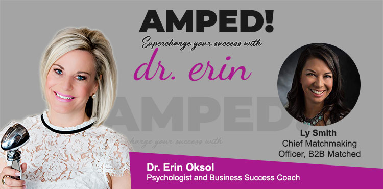Ep 07 - Amped! with Dr. Erin Blog Cover - Ly Smith
