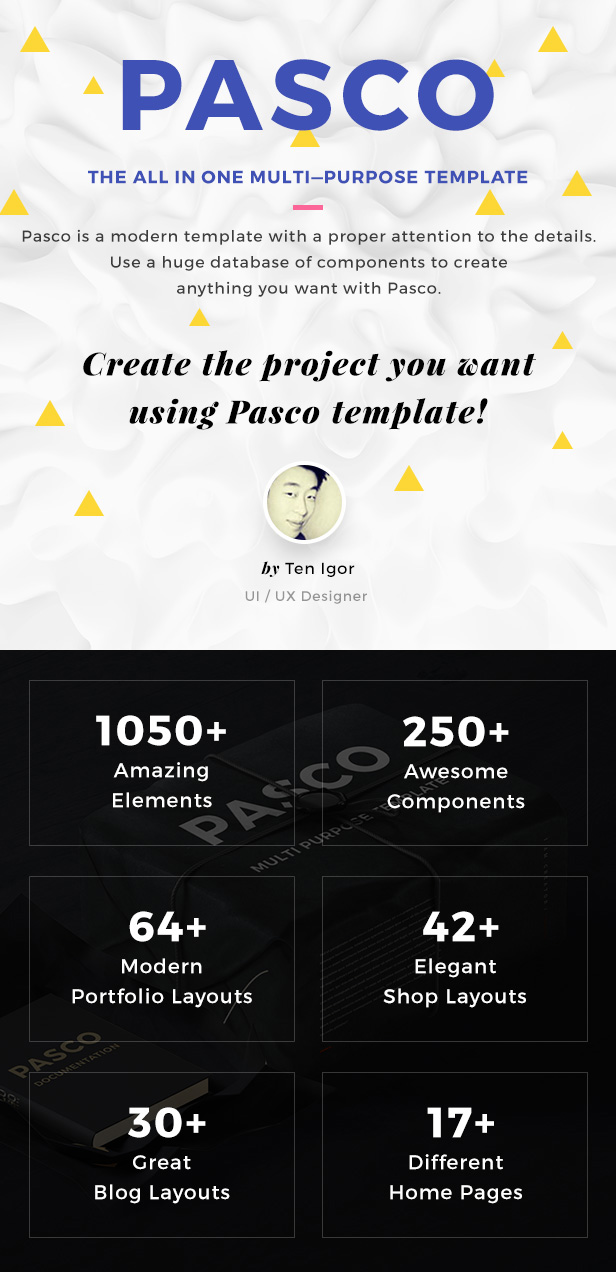 PASCO | Creative Multi-Purpose PSD Template
