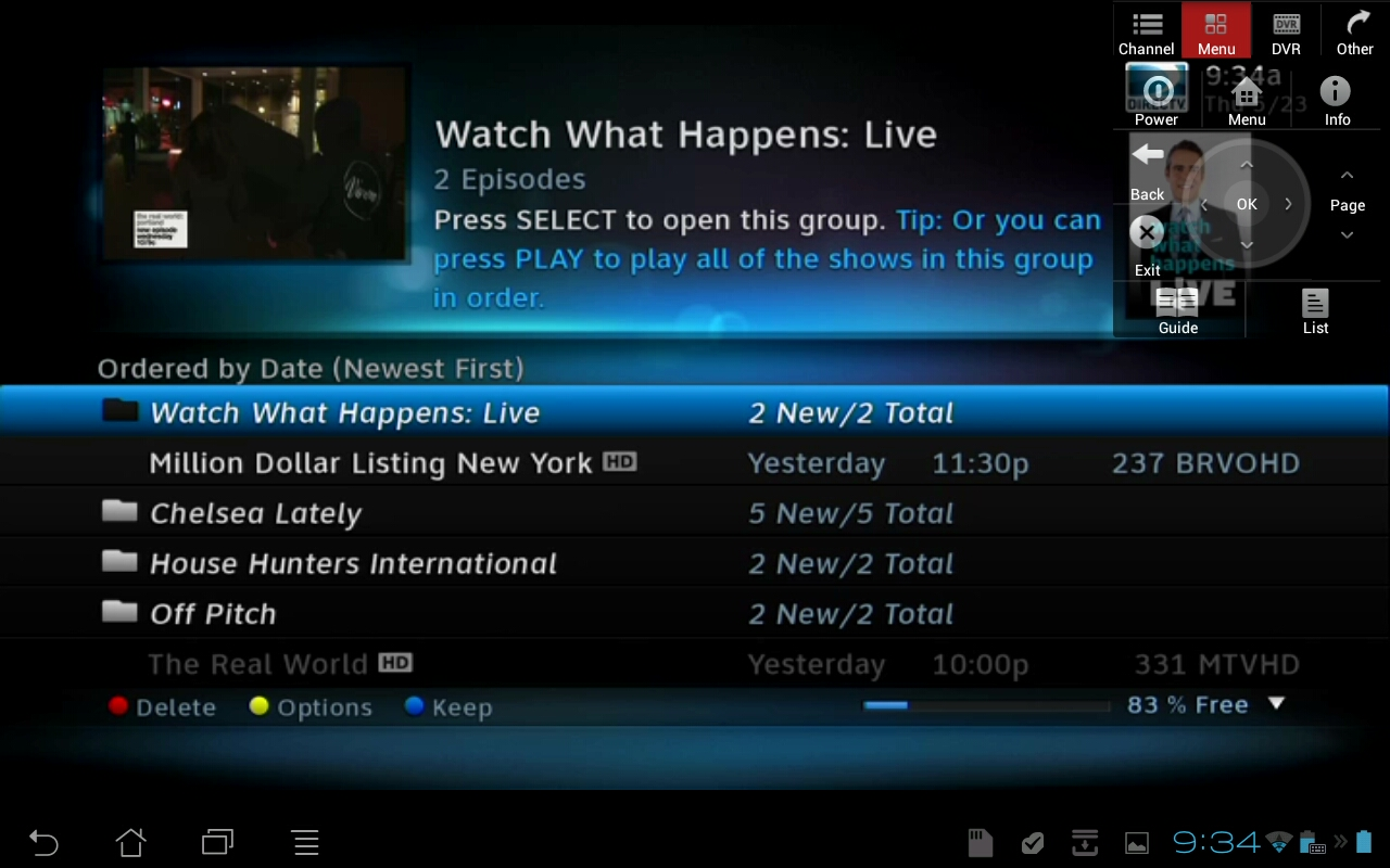 @TV Remotely Accessing the DVR