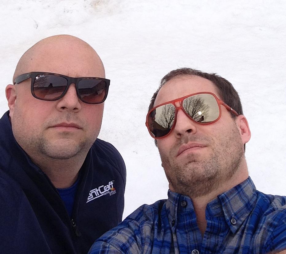Matt and Kurt sunglasses