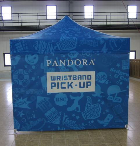 Pandora Full Digital Printed 10'x10' MASTERTENT