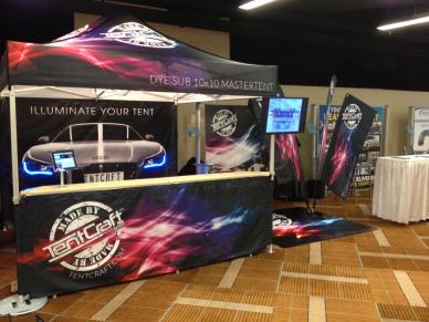 TentCraft Event Marketer 2013 Booth Set Up