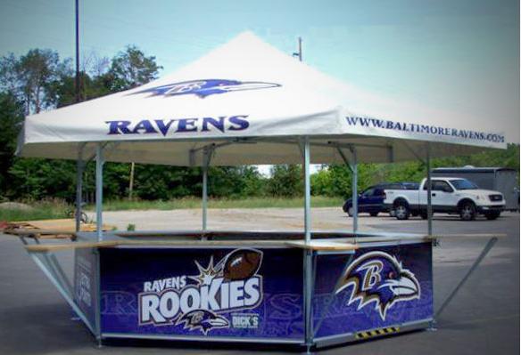Ravens Hexagon Pavilion Tent