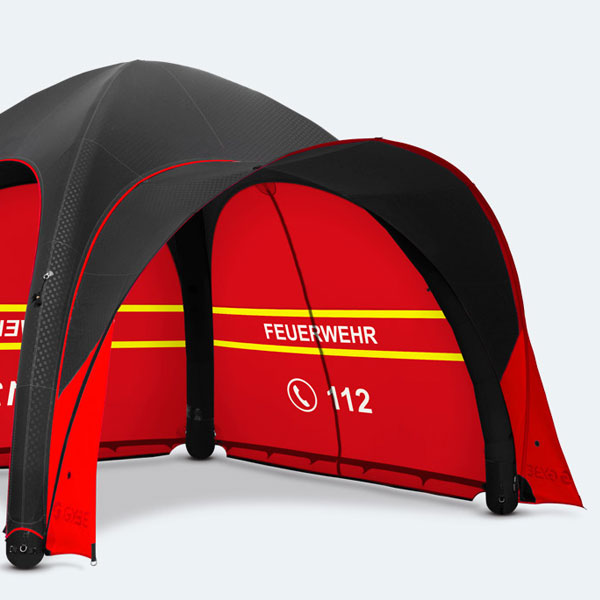 GYBE Sunshade for custom inflatable tent