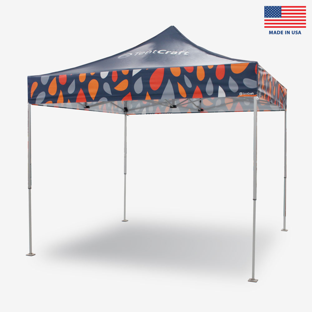 TentCraft mightyTENT, a medium-duty pop-up tent built in the USA.