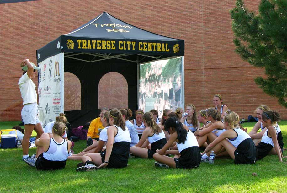 POP UP CANOPY TENTS FOR ATHLETIC TEAMS & TEAM TENTS - Tentcraft